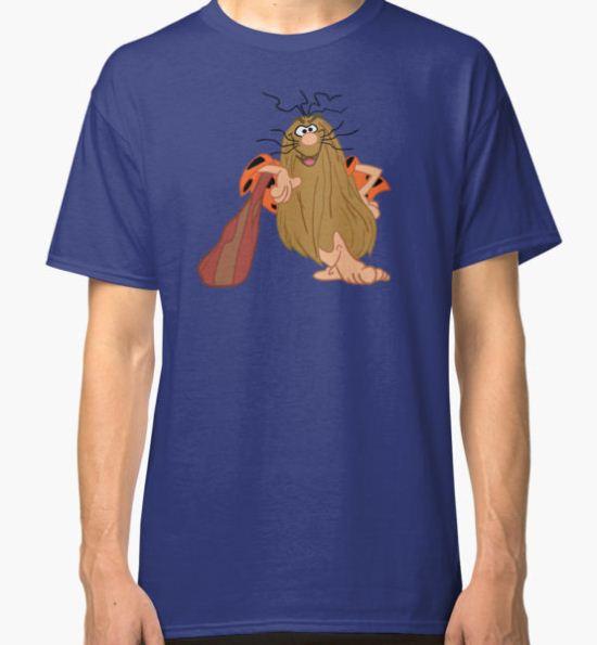 Captain Caveman Classic T-Shirt by edskimo8 T-Shirt