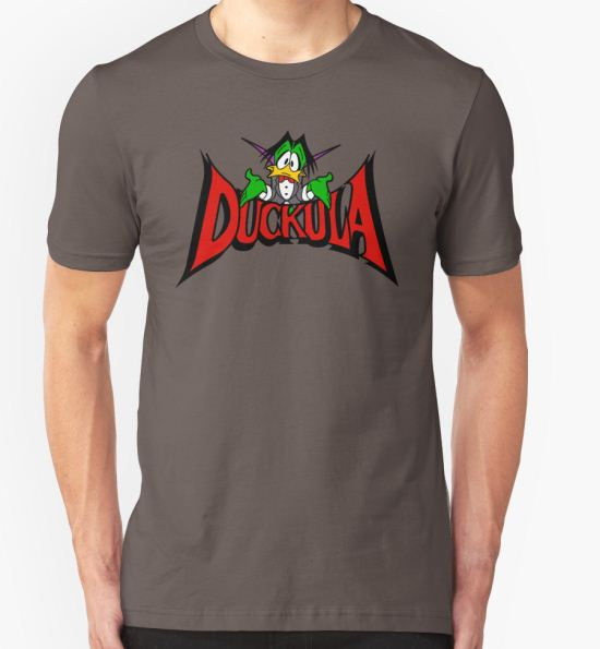 DUCKULA T-Shirt by robotghost T-Shirt