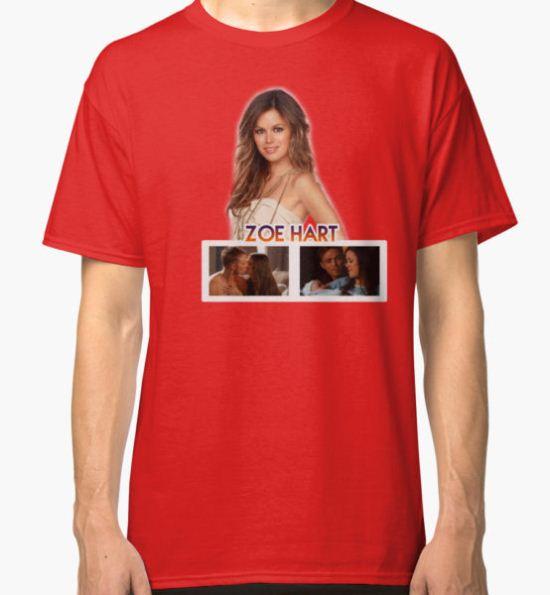 Zoe Hart - Hart of Dixie Classic T-Shirt by gemzysworld T-Shirt