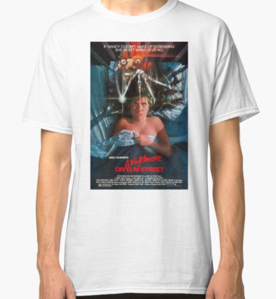 A Nightmare On Elm Street - Original Poster 1984 Classic T-Shirt by EnviousYT T-Shirt