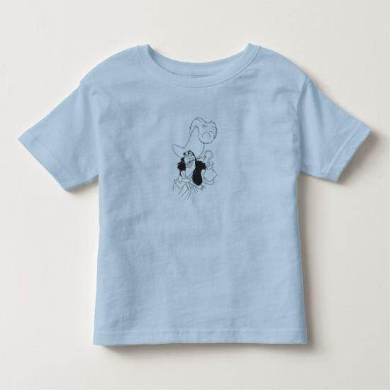 Peter Pan's Captain Hook Disney Toddler T-shirt