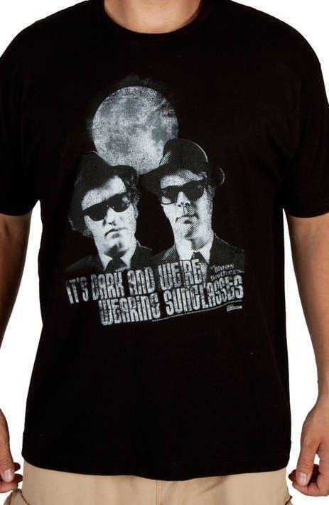 Sunglasses At Night Blues Brothers Shirt
