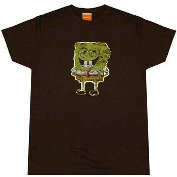Foiled SpongeBob SquarePants T-Shirt Sheer