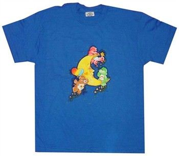 Care Bears Moon Play Blue Youth T-Shirt
