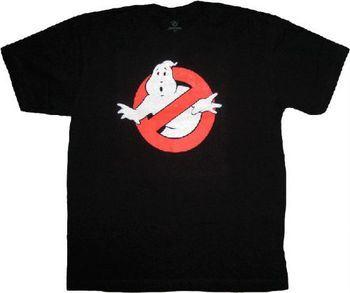 Ghostbusters Glow in the Dark Black T-shirt