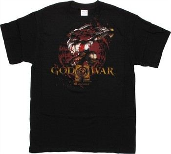 God of War Attack Name T-Shirt