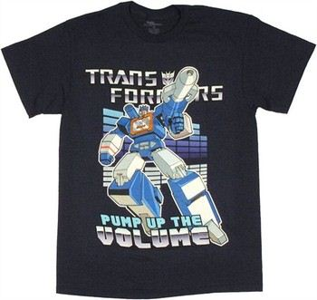 Transformers Soundwave Pump Up the Volume T-Shirt