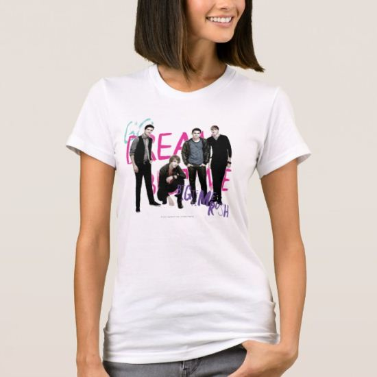 Dream Big Time Rush T-Shirt