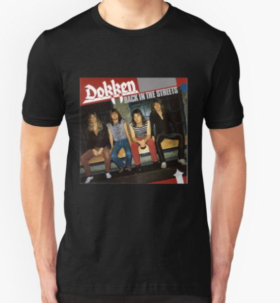 Dokken Back in The Streets T-Shirt by Carter Mould T-Shirt