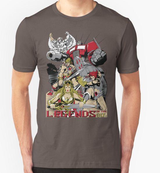 LEGENDS OF THE 80´S T-Shirt by dinshoran T-Shirt