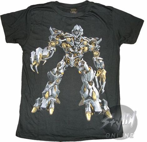 Transformers Megatron T-Shirt Sheer