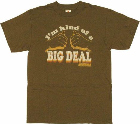 Anchorman Big Deal T Shirt