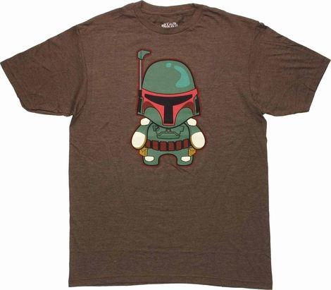 Star Wars Toy Boba Fett T Shirt Sheer