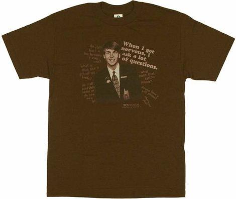 30 Rock Questions T Shirt