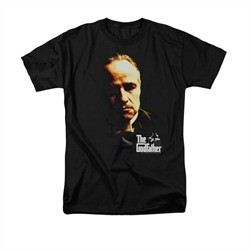 The Godfather Shirt Don Vito Adult Black Tee T-Shirt