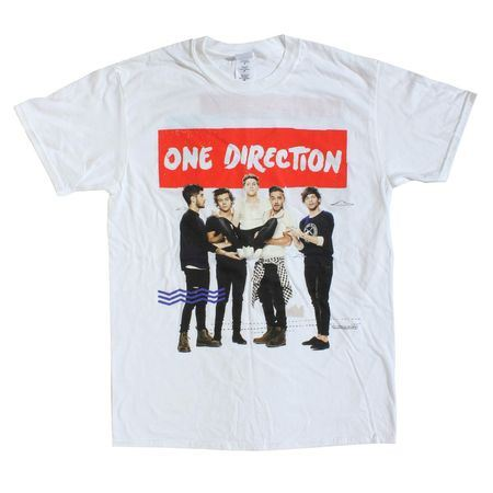 One Direction: One Direction Holding White Tour T-Shirt - Small