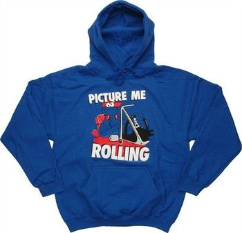 Sesame Street Cookie Monster Picture Me Rolling Pullover Hooded Sweatshirt