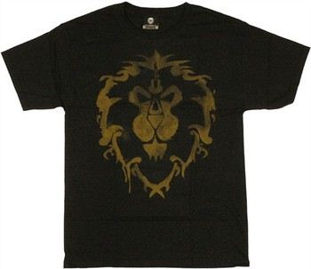 World of Warcraft Alliance Spray Logo T-Shirt