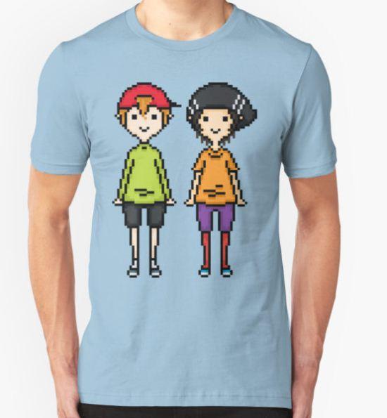 KevEdd Pixel Sprites T-Shirt by supalurve T-Shirt