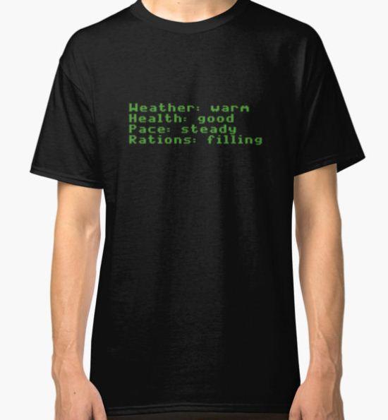 Oregon Trail Classic T-Shirt by Geoff  Powell T-Shirt