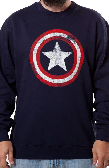 Captain America Shield Sweatshirt