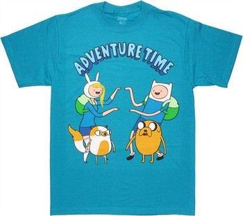 Adventure Time Finn Jake Fionna Cake T-Shirt