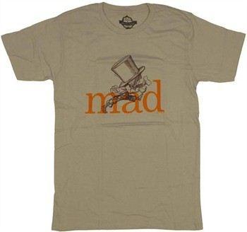 Alice in Wonderland Mad Hatter Running T-Shirt Sheer