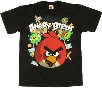 Angry Birds Smash Pigs Youth T-Shirt