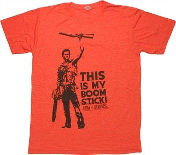Army of Darkness This is My Boom Stick T-Shirt Sheer