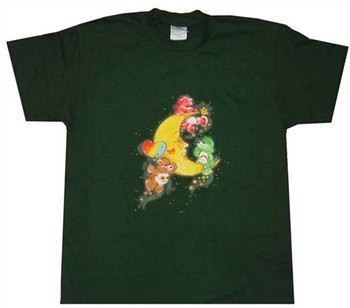 Care Bears Moon Play Green Youth T-Shirt