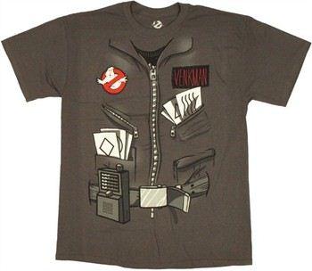 Ghostbusters Dr. Peter Venkman Costume T-Shirt