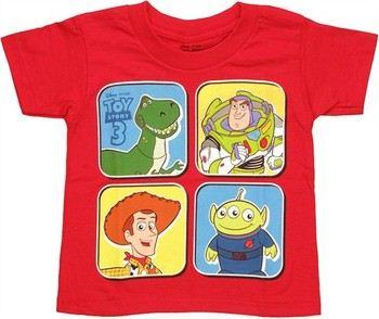 Disney Toy Story Four Blocks Toddler T-Shirt