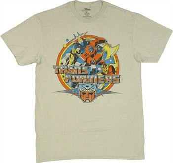 Transformers Autobots Group Circled T-Shirt