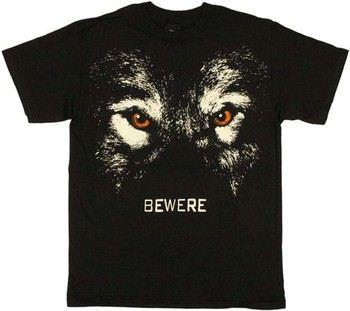 True Blood Bewere Werewolf Eyes T-Shirt