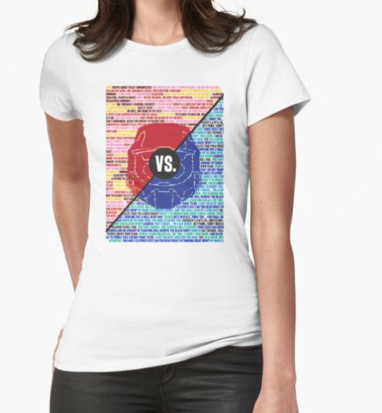 Red Vs. Blue T-Shirt by Nombie T-Shirt