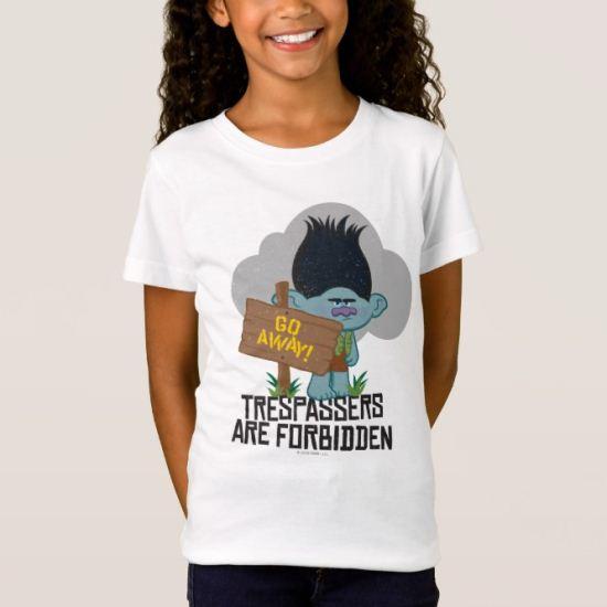 Trolls | Branch - Trespassers are Forbidden T-Shirt