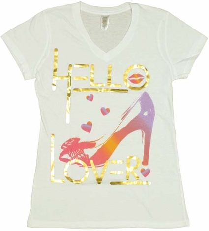 Sex and the City Hello Lover Baby Tee