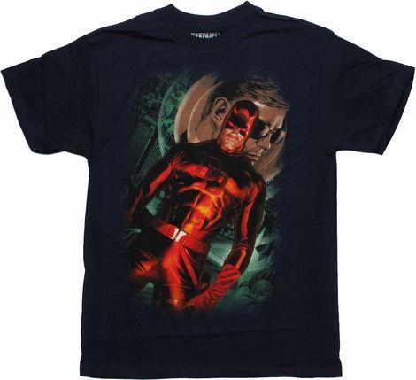 Daredevil Marvel 75th Special Edition Alex Ross T Shirt
