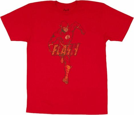 Flash Running Logo T Shirt Sheer