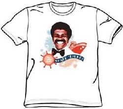 Love Boat Shirt Issac Shake Em Up White T-Shirt
