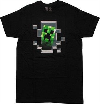 Minecraft Creeper Inside T-Shirt