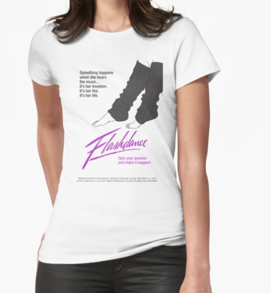 Flashdance T-Shirt by Sara García T-Shirt