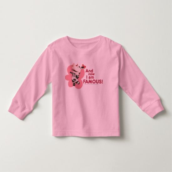 Olivia - And now I am Famous Toddler T-shirt