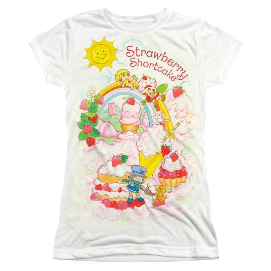 Strawberry Shortcake Soda Slide Sublimation Juniors Shirt