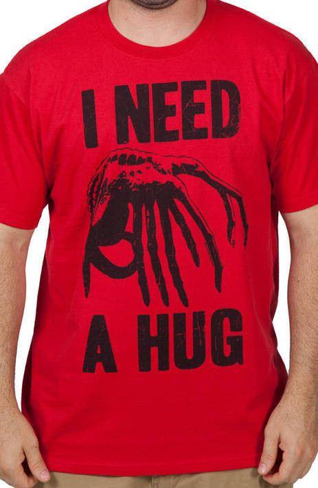 Need A Hug Facehugger Shirt
