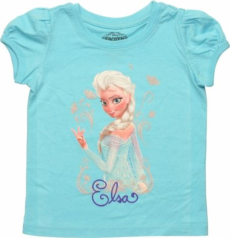 Frozen Elsa Look Back Toddler T Shirt
