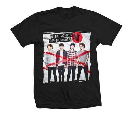 5 Seconds of Summer: 5SOS: Album Art T-Shirt