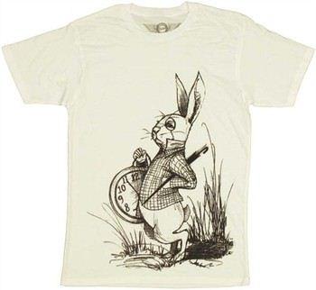 Alice in Wonderland White Rabbit T-Shirt Sheer