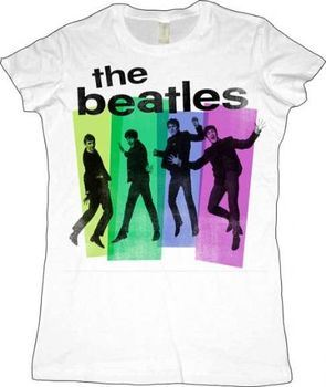 The Beatles Jumpers White Juniors T-shirt