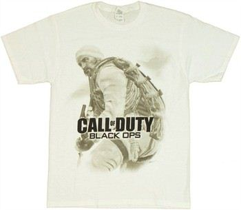 Call of Duty Black Ops Faded Soldier T-Shirt